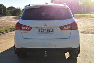2014 Mitsubishi ASX XB MY15 XLS 2WD White 6 Speed Constant Variable Wagon