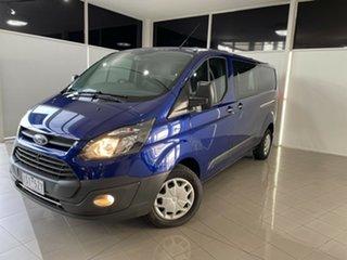 2017 Ford Transit Custom VN 340L (Low Roof) Blue 6 Speed Automatic Van.