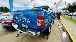 2014 Toyota Hilux KUN26R MY14 SR5 Double Cab Blue 5 Speed Automatic Utility