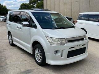 2008 Mitsubishi Delica D:5 CV5W White Constant Variable Van Wagon.