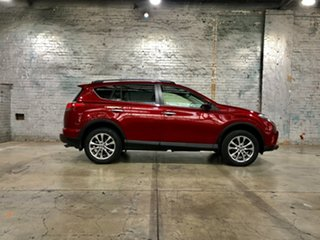 2017 Toyota RAV4 ASA44R Cruiser AWD Red 6 Speed Sports Automatic Wagon