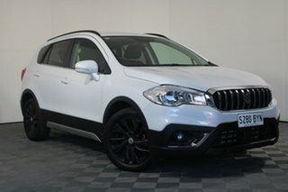 2018 Suzuki S-Cross JY Turbo White 6 Speed Sports Automatic Hatchback.