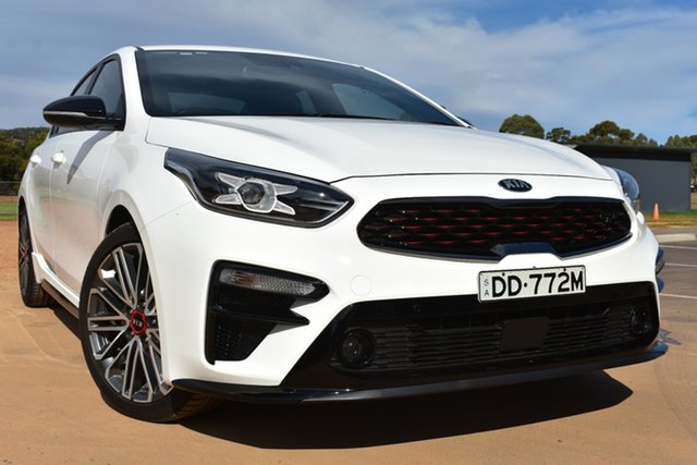 Used Kia Cerato BD MY19 GT DCT St Marys, 2019 Kia Cerato BD MY19 GT DCT White 7 Speed Sports Automatic Dual Clutch Sedan