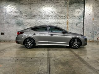 2019 Hyundai Elantra AD.2 MY19 Sport DCT Silver 7 Speed Sports Automatic Dual Clutch Sedan