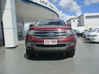 2018 Ford Everest UA MY18 Trend (4WD) (5 Yr) Sunset Red 6 Speed Automatic SUV