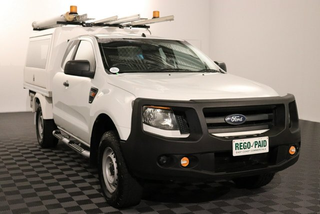 Used Ford Ranger PX XL Acacia Ridge, 2012 Ford Ranger PX XL 6 speed Manual Cab Chassis