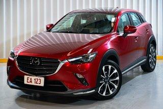 2019 Mazda CX-3 DK2W7A Akari SKYACTIV-Drive FWD Red/Black 6 Speed Sports Automatic Wagon.