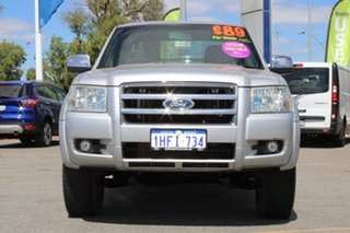 2007 Ford Ranger PJ XLT Super Cab Silver 5 Speed Manual Utility