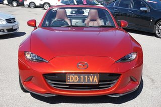 2017 Mazda MX-5 ND GT SKYACTIV-Drive Red 6 Speed Sports Automatic Roadster