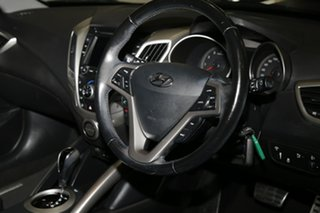 2013 Hyundai Veloster FS2 + Coupe D-CT Black 6 Speed Sports Automatic Dual Clutch Hatchback
