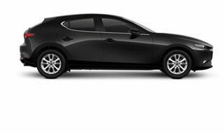 2021 Mazda 3 BP2H7A G20 SKYACTIV-Drive Pure Jet Black 6 Speed Sports Automatic Hatchback.