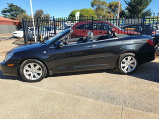 2010 Chrysler Sebring JS MY10 Limited Black 6 Speed Sports Automatic Convertible