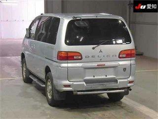 2003 Mitsubishi Delica PD6W Spacegear Silver Automatic Van Wagon.
