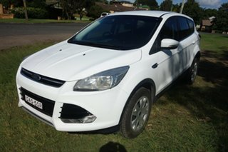 2016 Ford Kuga TF MY16 Ambiente 2WD White 6 Speed Sports Automatic Wagon.
