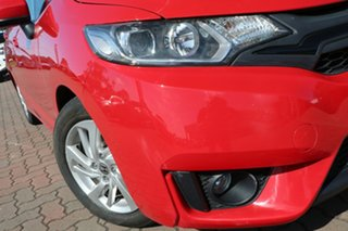 2016 Honda Jazz GF MY17 Limited Edition Red 1 Speed Constant Variable Hatchback.