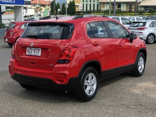 2017 Holden Trax TJ MY17 LS Red 6 Speed Automatic Wagon.