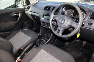 2010 Volkswagen Polo 6R Trendline White 5 Speed Manual Hatchback