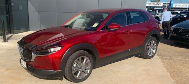 Demo Mazda CX-30 DM2W7A G20 SKYACTIV-Drive Touring North Rockhampton, 2020 Mazda CX-30 DM2W7A G20 SKYACTIV-Drive Touring Soul Red Crystal 6 Speed Sports Automatic Wagon