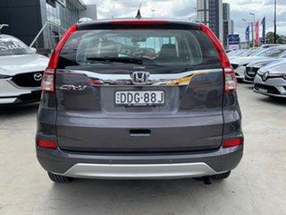 2016 Honda CR-V RM Series II MY17 VTi Grey 5 Speed Automatic Wagon.