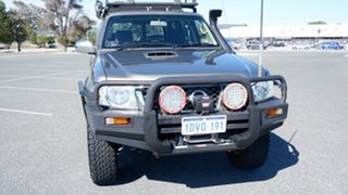 2008 Nissan Patrol GU 6 MY08 ST Gold 4 Speed Automatic Wagon.