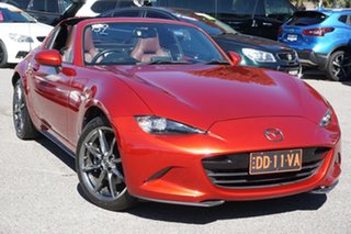 2017 Mazda MX-5 ND GT SKYACTIV-Drive Red 6 Speed Sports Automatic Roadster.