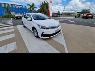 2016 Toyota Corolla ZRE172R Ascent Glacier White 7 Speed CVT Auto Sequential Sedan.