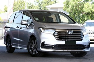 2021 Honda Odyssey RC 21YM Vi LX7 Platinum White 7 Speed Constant Variable Wagon.