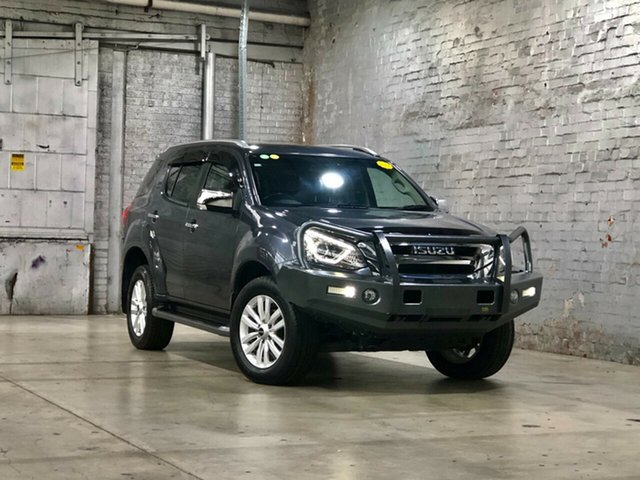 Used Isuzu MU-X MY17 LS-T Rev-Tronic 4x2 Mile End South, 2017 Isuzu MU-X MY17 LS-T Rev-Tronic 4x2 Grey 6 Speed Sports Automatic Wagon