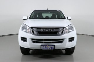 2016 Isuzu D-MAX TF MY15 SX HI-Ride (4x2) White 5 Speed Automatic Crew Cab Utility.