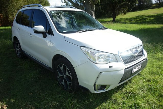 Used Subaru Forester S4 MY13 XT Lineartronic AWD Premium East Maitland, 2013 Subaru Forester S4 MY13 XT Lineartronic AWD Premium White 8 Speed Constant Variable Wagon