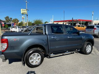 2013 Ford Ranger PX XLT Double Cab Metropolitan Grey 6 Speed Sports Automatic Utility