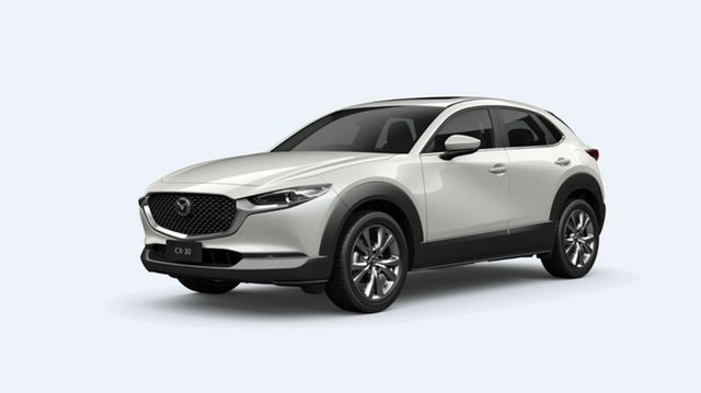 Demo Mazda CX-30 DM2WLA G25 SKYACTIV-Drive Astina Toowoomba, 2021 Mazda CX-30 DM2WLA G25 SKYACTIV-Drive Astina 6 Speed Sports Automatic Wagon