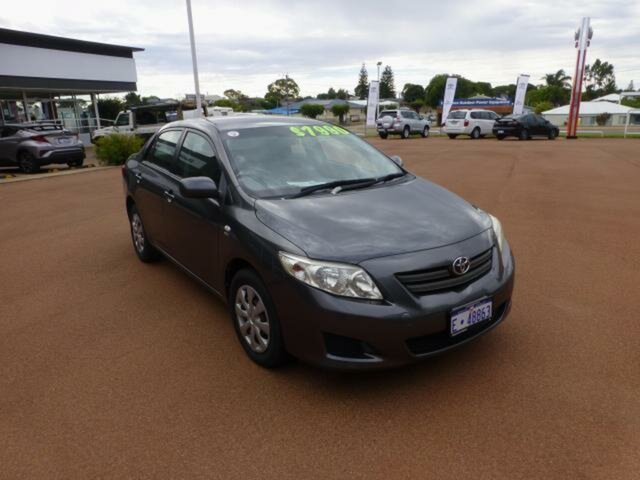 Pre-Owned Toyota Corolla ZRE152R MY09 Ascent Esperance, 2009 Toyota Corolla ZRE152R MY09 Ascent Graphite 6 Speed Manual Sedan