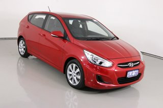 2017 Hyundai Accent RB5 Sport Red 6 Speed Automatic Hatchback