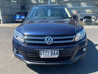 2013 Volkswagen Tiguan 5N MY14 103TDI DSG 4MOTION Pacific Blue 7 Speed Sports Automatic Dual Clutch.
