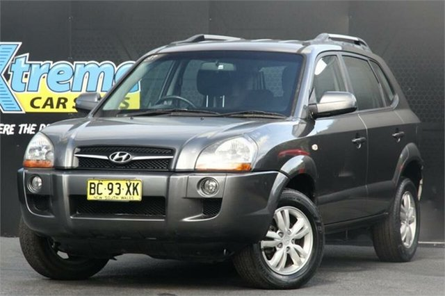Used Hyundai Tucson JM MY09 SX Campbelltown, 2009 Hyundai Tucson JM MY09 SX Titanium 4 Speed Sports Automatic Wagon