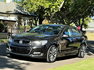 2016 Holden Commodore VF II MY16 SS V Black 6 Speed Sports Automatic Sedan.