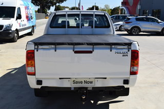 2014 Toyota Hilux KUN16R MY14 SR Double Cab 4x2 Glacier White 5 Speed Manual Utility