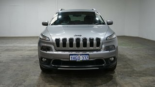 2017 Jeep Cherokee KL MY17 Limited Billet Silver 9 Speed Sports Automatic Wagon