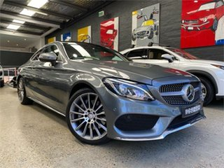 2017 Mercedes-Benz C-Class C205 C300 Mountain Grey Sports Automatic Coupe.