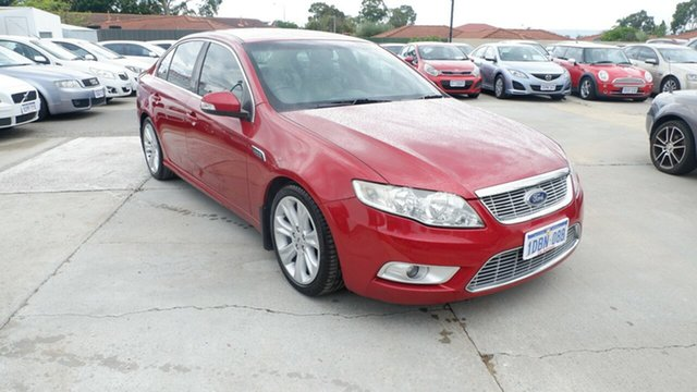 Used Ford Falcon FG G6E Turbo St James, 2009 Ford Falcon FG G6E Turbo Red 6 Speed Sports Automatic Sedan