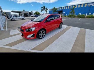 2016 Holden Barina TM MY16 RS Red 6 Speed Manual Hatchback