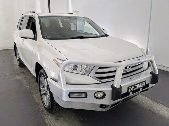 Used Toyota Kluger GSU45R MY11 KX-S AWD Maryville, 2011 Toyota Kluger GSU45R MY11 KX-S AWD White 5 Speed Sports Automatic Wagon