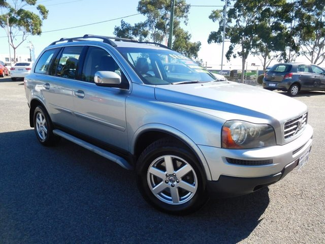 Used Volvo XC90 P28 MY08 LE Wangara, 2008 Volvo XC90 P28 MY08 LE Silver 6 Speed Sports Automatic Wagon