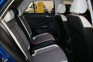 2021 Volkswagen T-ROC A1 MY21 110TSI Style Ravenna Blue 8 Speed Sports Automatic Wagon