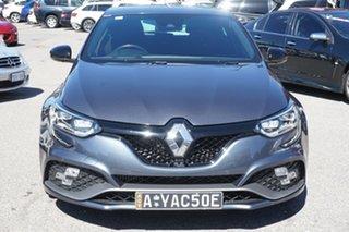 2018 Renault Megane BFB R.S. 280 EDC Grey 6 Speed Sports Automatic Dual Clutch Hatchback.