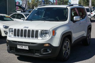 2016 Jeep Renegade BU MY16 Limited DDCT White 6 Speed Sports Automatic Dual Clutch Hatchback