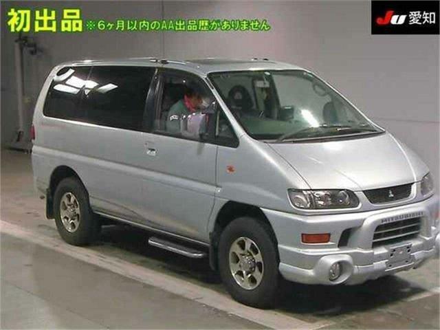Used Mitsubishi Delica Silverwater, 2003 Mitsubishi Delica PD6W Spacegear Silver Automatic Van Wagon