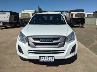 2017 Isuzu D-MAX MY17 SX Crew Cab White 6 Speed Sports Automatic Utility.