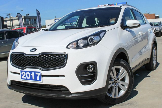 Used Kia Sportage QL MY17 Si 2WD Coburg North, 2017 Kia Sportage QL MY17 Si 2WD White 6 Speed Sports Automatic Wagon